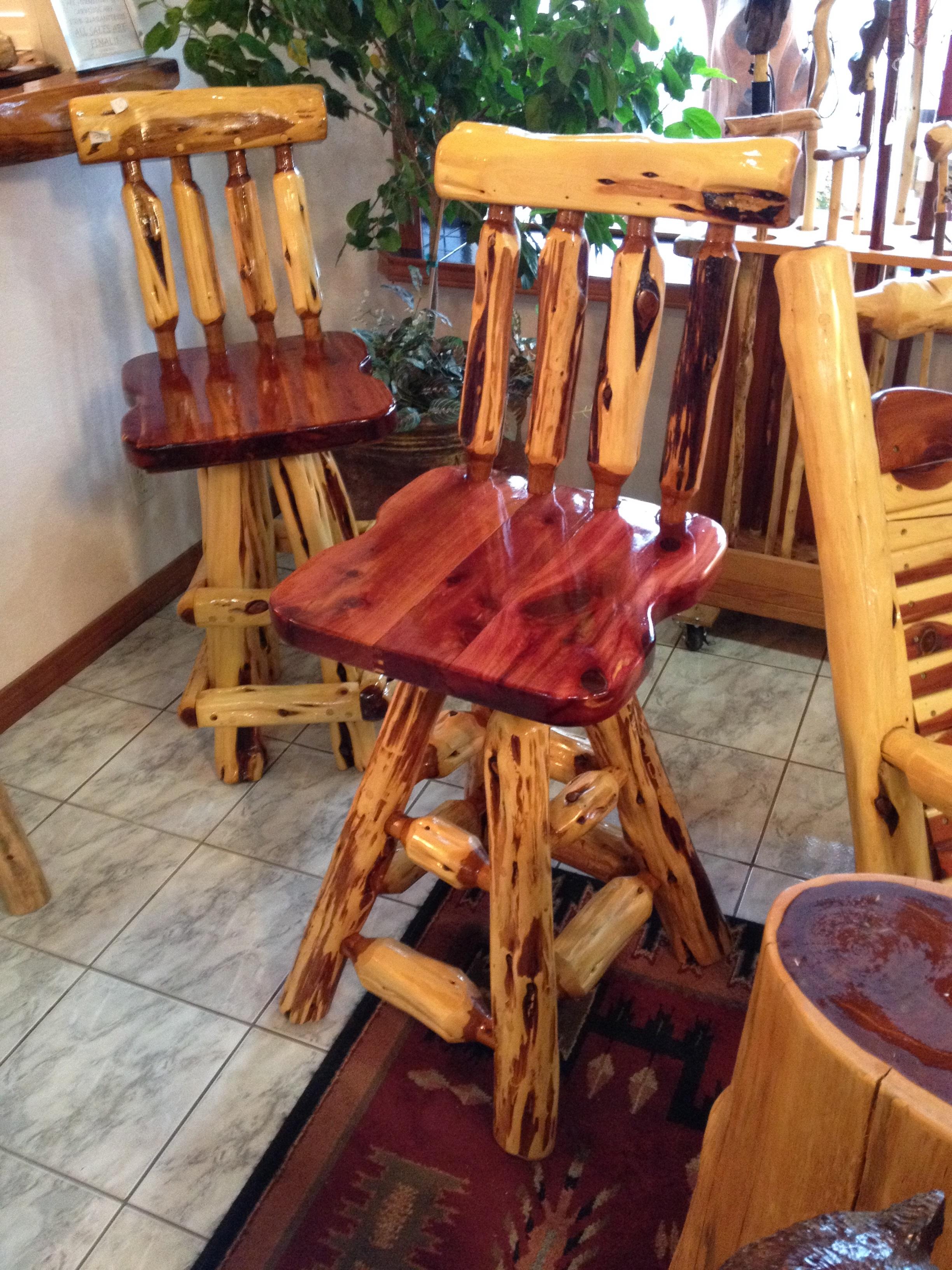 Cedar Chairs For Table ...